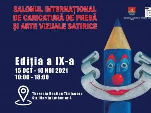 Salonul Internațional de Caricatură de Presă și Arte Vizuale Satirice, ediția a IX-a, accesibil și în mediul virtual
