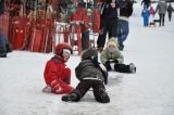 Moment de socializare pe gheţuş.