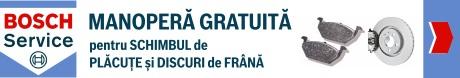 ADRIA - Manopera gratuita pentru schimbul de placute si discuri de frana