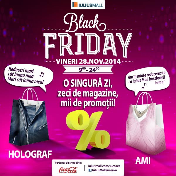 Iulius Mall - Black Friday