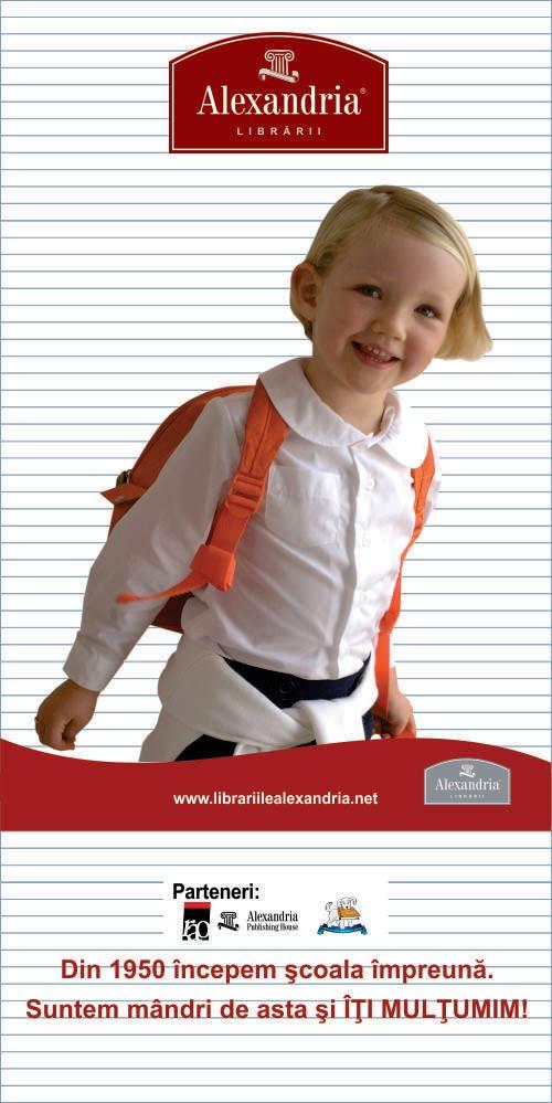 Librariile ALEXANDRIA - Pregăteşte-te pentru şcoală