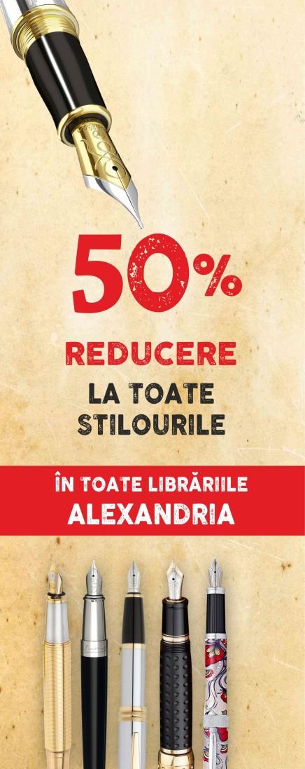 Librariile ALEXANDRIA - Reduceri