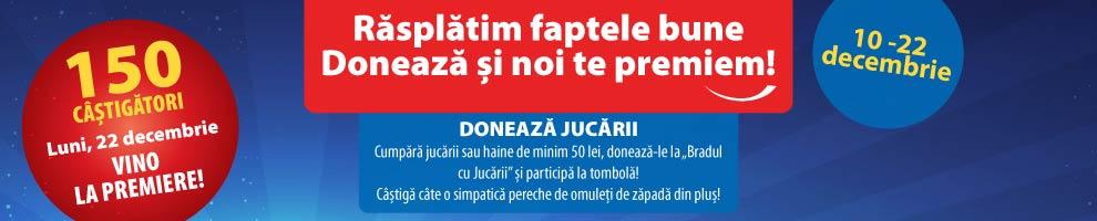 SHOPPING CITY SUCEAVA - Doneaza jucarii