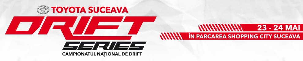SHOPPING CITY SUCEAVA - Drift Series