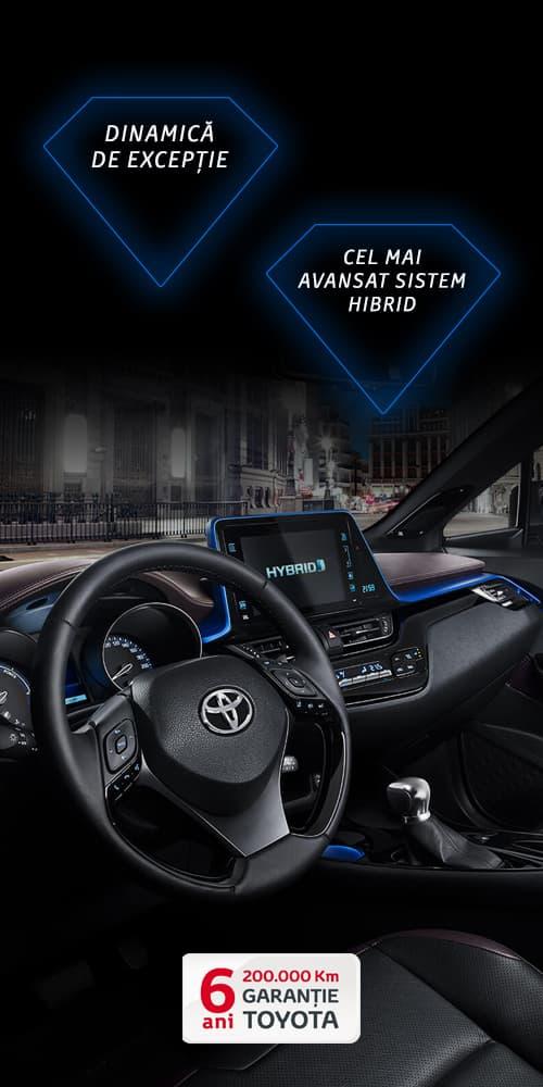 TOYOTA - Noua Toyota C-HR