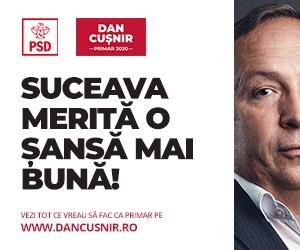 Dan Cușnir - primar 2020