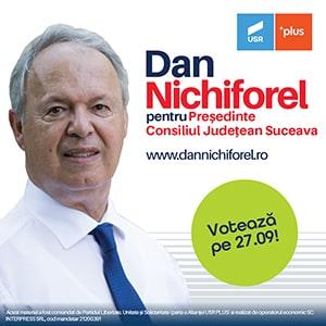 Dan Nichiforel pentru Președinte Consiliul Județean Suceava