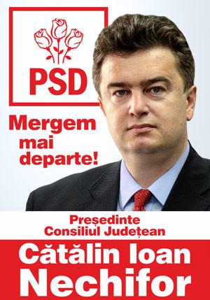 Cătălin Ioan Nechifor - Preşedinte Consiliul Judeţean