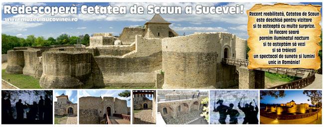 Redescopera Cetatea de Scaun a Sucevei