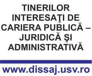 Comunicat de presa - Tinerilor interesati de cariera publica - juridica si administrativa