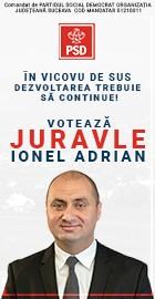 Voteaza Juravle Ionel Adrian