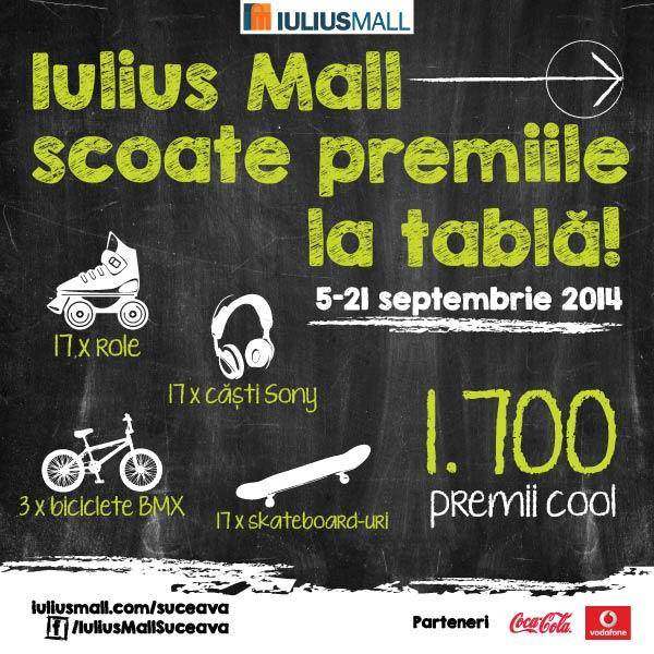 Iulius Mall scoate premiile pe tabla