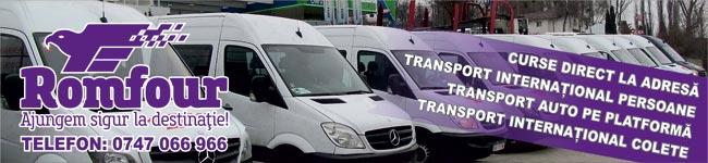 ROMFOUR - Transport de persoane si colete