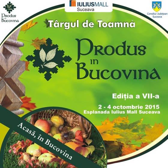 Iulius Mall : Targul de Toamna Produs in Bucovina