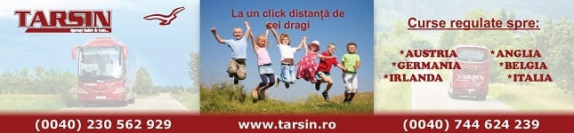 TARSIN Transport international de persoane - Romania - Germania