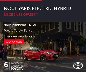 Toyota - Noul Yaris Hybrid