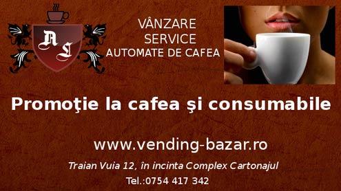 Automate de cafea si consumabile