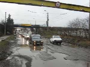 Iadul a cobort în strada la Pasarela Scheia
