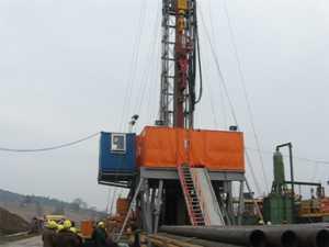 Instalaţie de foraj de şase milioane de euro la Cacica