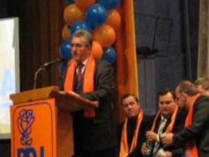 """Primarul Lungu, din nou """"portocaliu"""""""