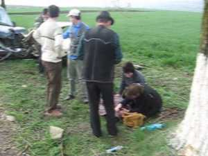 Doi morţi după un cumplit accident rutier la Pătrăuţi