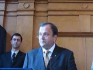 Gheorghe Flutur depune juramintul de presedinte al CJ Suceava