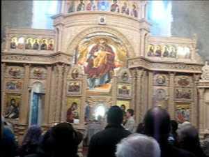 Slujba arhiereasca la Biserica Nasterea Maicii Domnului