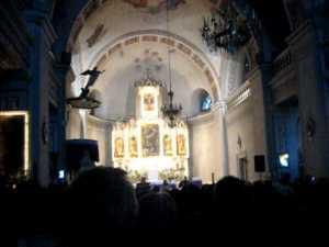 Spectacol cutremurator Grigore Lese, in Catedrala Catolica
