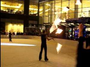 Foc si gheata la inaugurarea celui mai modern patinoar