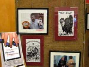 Expozitie de fotografie si caricatura jurnalistica, la Iulius Mall