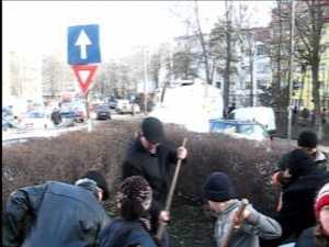 Primarul Ion Lungu a maturat strazile din doua mari cartiere ale Sucevei