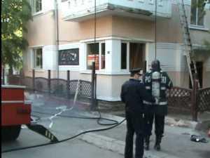 """Clădirea fostului restaurant """"La Fitze"""", incendiată"""