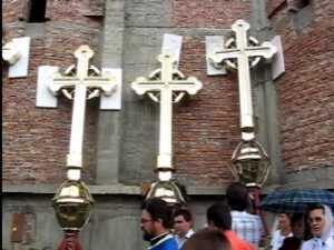 IPS Pimen a sfintit ieri patru cruci aurite