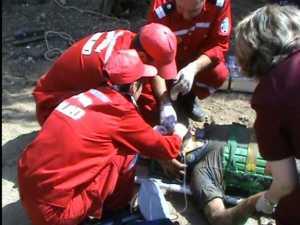 Muncitor îngropat în pământ, în timp ce lucra în incinta Universităţii