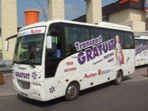 Transport gratuit pentru clientii Iulius Mall Suceava