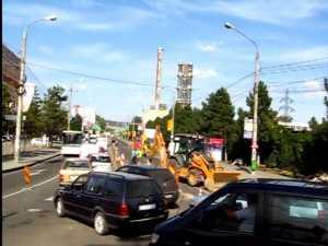 Viteza de circulaţie în Suceava este de 3,5 kmh