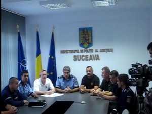 Certificate de experti în interventii pirotehnice, pentru politistii suceveni