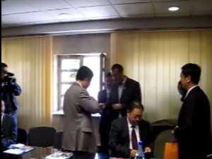Vizita delegatie chineza la Primaria Suceava