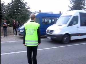 """Microbuze de călători, """"evaporate"""" de pe trasee, în timpul unui control ARR"""