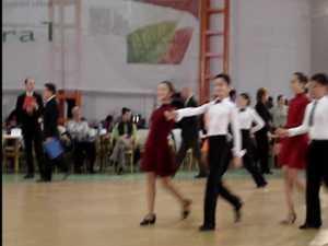 Premiant pe ringurile de dans, la doar 12 ani