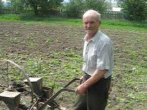 La 82 de ani seamănă hectare de teren prin sat, cu calul, la preţ de criză