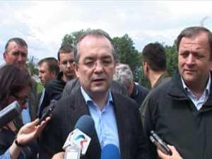 Premierul Emil Boc a promis ajutor pentru sinistrati