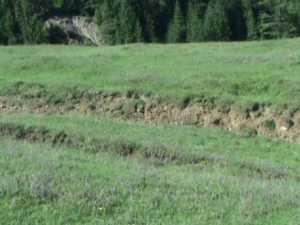 Dealurile se prăvălesc peste case, la Bucşoaia
