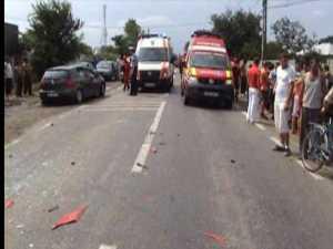 Poliţist pe motocicletă, băgat în comă de un şofer fără permis