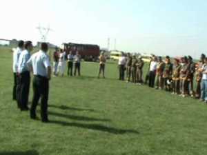 Pompierii voluntari de la Brodina, locul II la faza naţională
