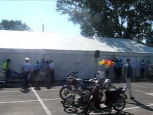 Caravana mopediştilor şi motocicliştilor, trasă pe dreapta din lipsă de participanţi