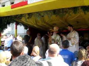 Sfintirea Bisericii Sf Vasile cel Mare, din cartierul Tineretii