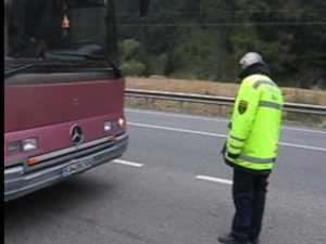 Transportatorii de persoane din zona de munte, imaculati dupa un control in trafic