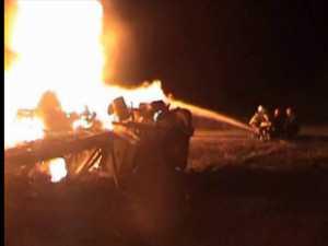 Accidentul de cisternă de la Roşiori, un imens dezastru din cauza unui transformator electric