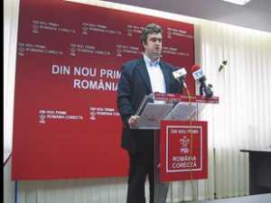 Nechifor sustine ca doi parlamentari PDL de Suceava vor vota motiunea de cenzura a opozitiei